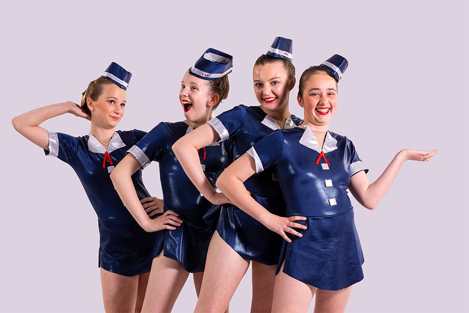 dancers-blue-creative-jetset-costume-laughing-ballarat-style-fun-laugh-attitude-dancerstogether-infocus-photography