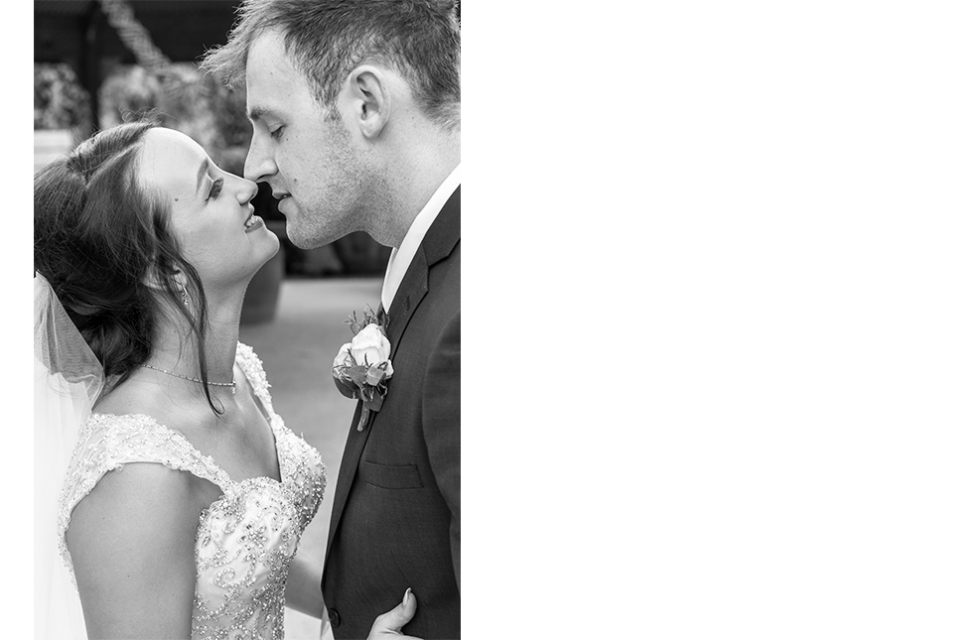 wedding-kiss-couple-bride-marriage-love-infocus-photography