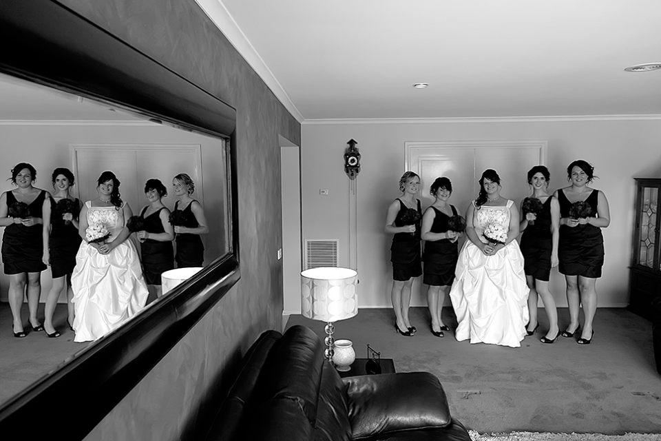 wedding-lovely-dress-bride-bridal-party-black-white-infocus-photography